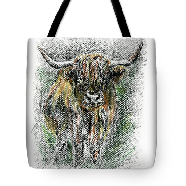 Moo Tote Bag by MM Anderson