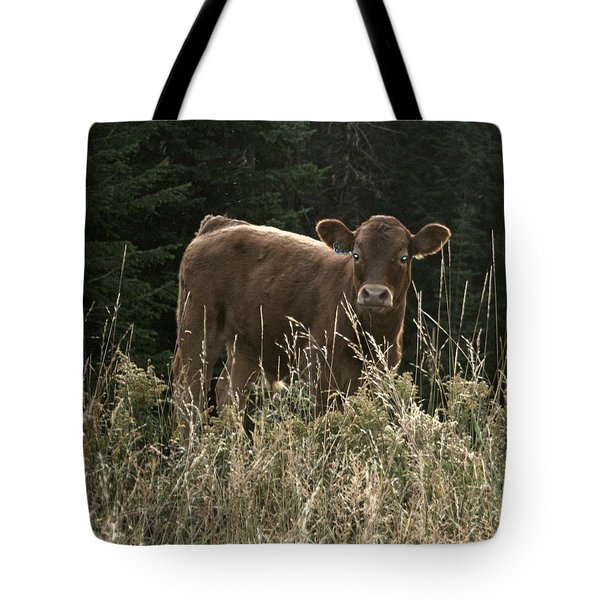 MOO Tote Bag by Tiffany Vest
