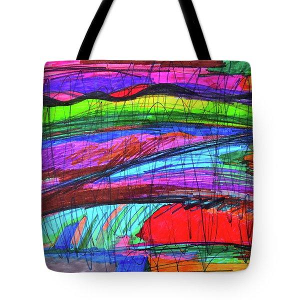 Mood Abstract Tote Bag