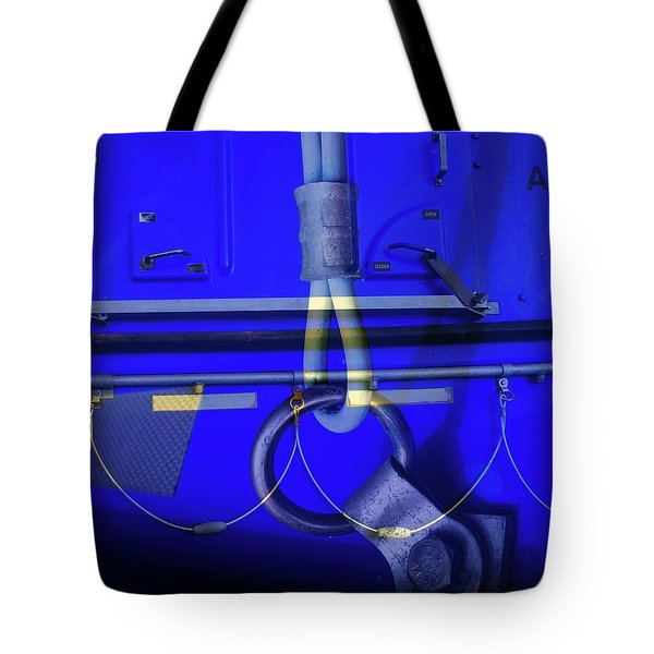 Tote Bag featuring the photograph Mood Blue by Wayne Sherriff
