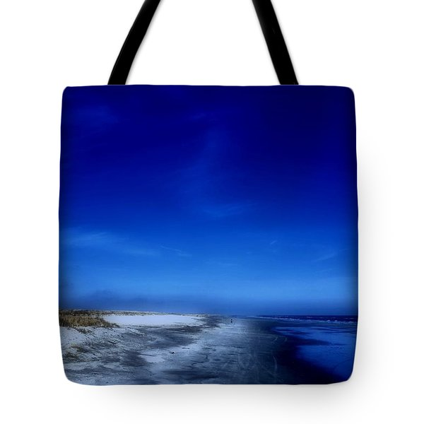 Mood Of A Beach Evening - Jersey Shore Tote Bag
