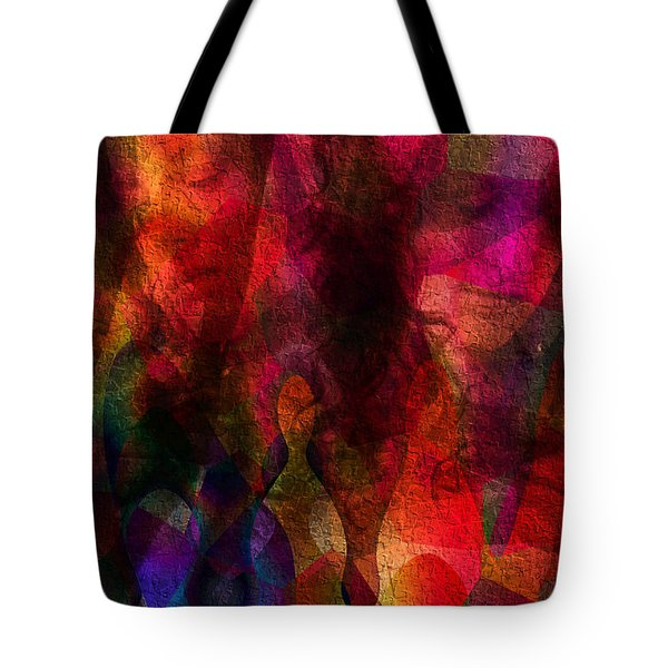 Moods In Abstract Tote Bag