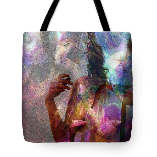 Moods In Abstract Pastel Tote Bag