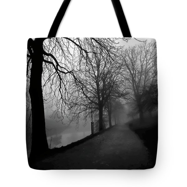 Moody And Misty Morning Tote Bag