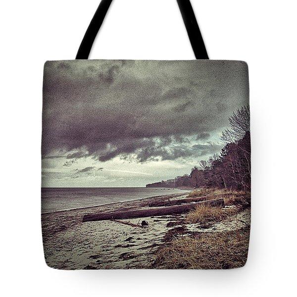Moody Beach Tote Bag