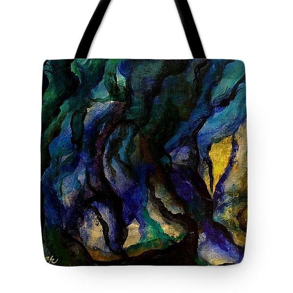 Moody Bleu Tote Bag