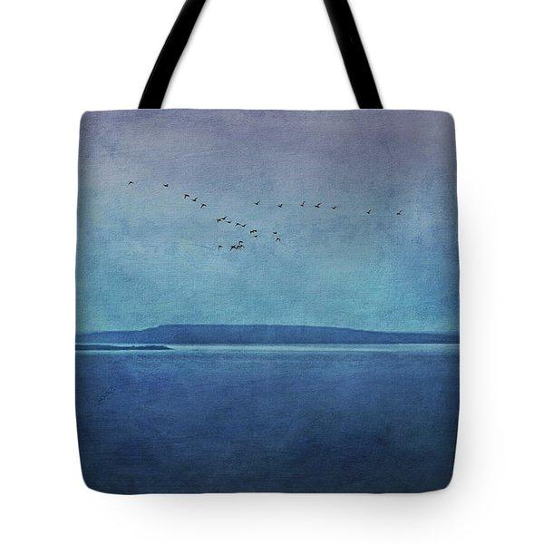 Moody  Blues - A Landscape Tote Bag