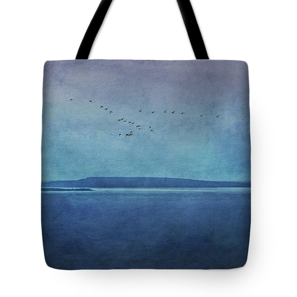 Moody  Blues - A Landscape Tote Bag