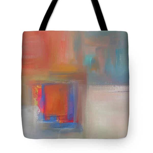 Tote Bag featuring the mixed media Moody Blues by Eduardo Tavares