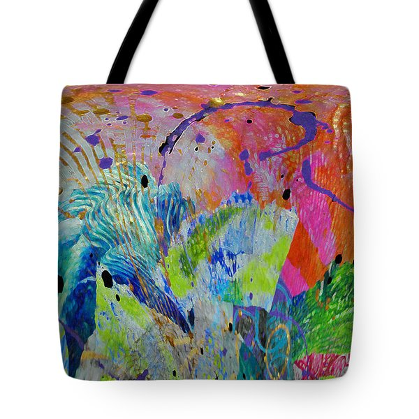 Tote Bag featuring the photograph Moody Blues2 by Kate Word