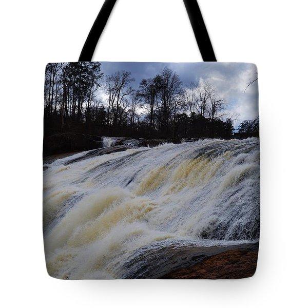Moody Flow Tote Bag by Warren Thompson