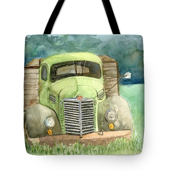 Moody Green Tote Bag