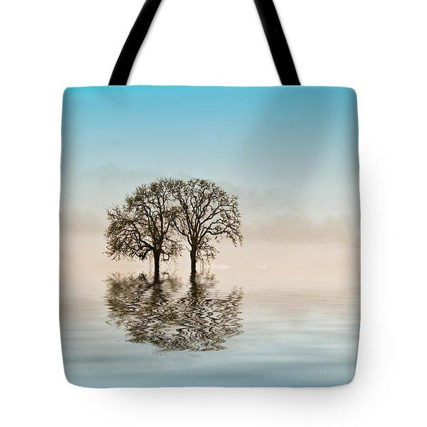 Moody Trees Tote Bag by Jean Noren