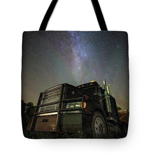 Moody Trucking Tote Bag