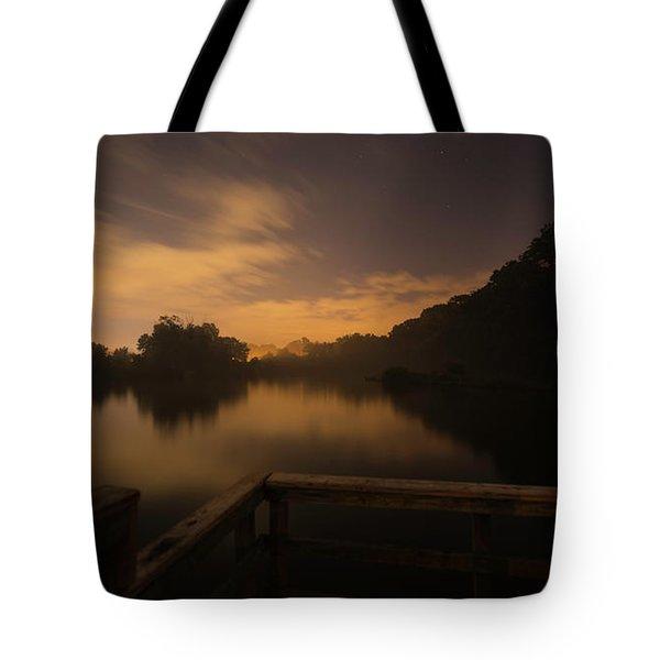 Moody View Tote Bag
