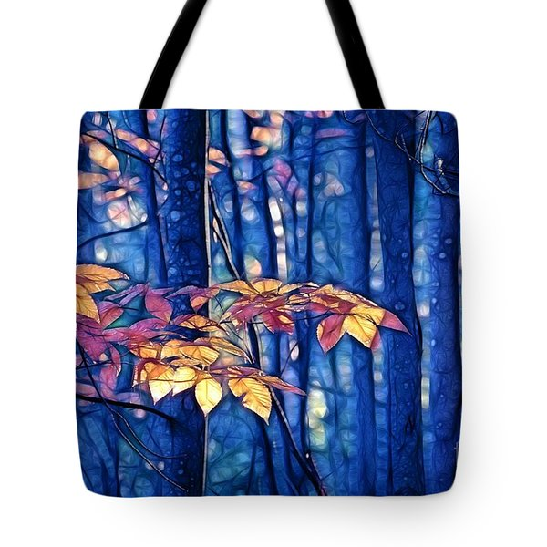 Moody Woods Tote Bag by Aimelle