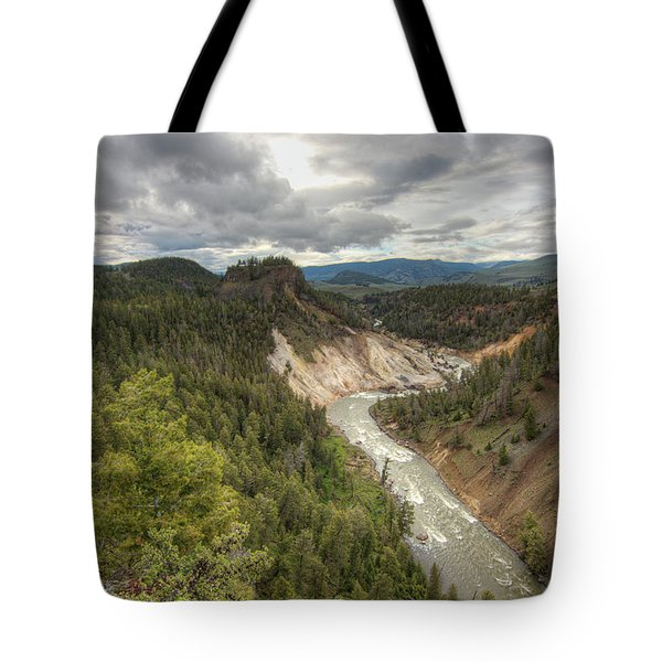 Moody Yellowstone Tote Bag