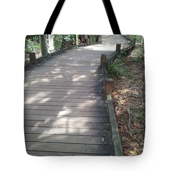 Mooloolaba Path Tote Bag