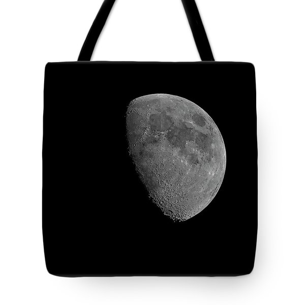Tote Bag featuring the photograph Moon 67 Percent Fr23 by Mark Myhaver