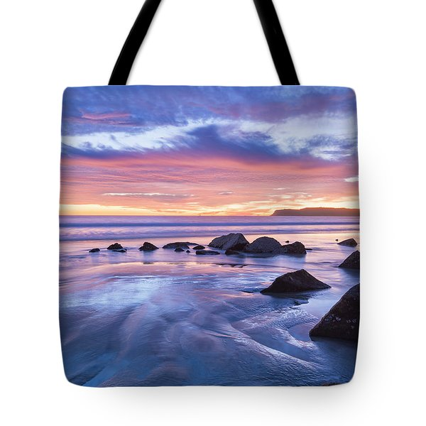 Moon Above Tote Bag