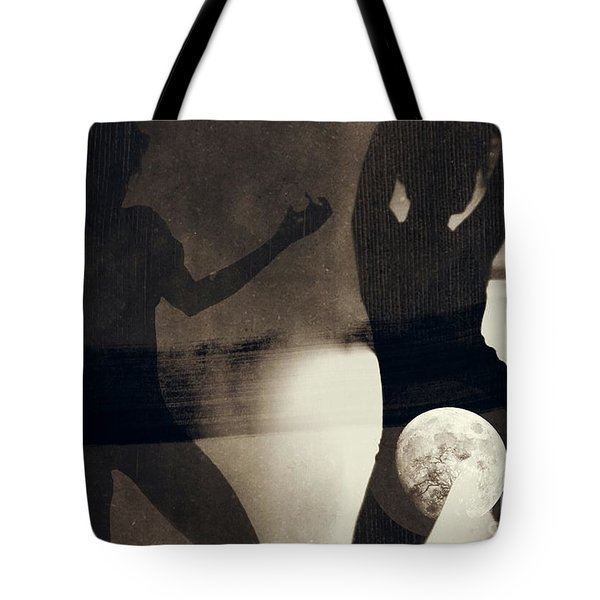 Moon And Then Tote Bag by Jessica Shelton