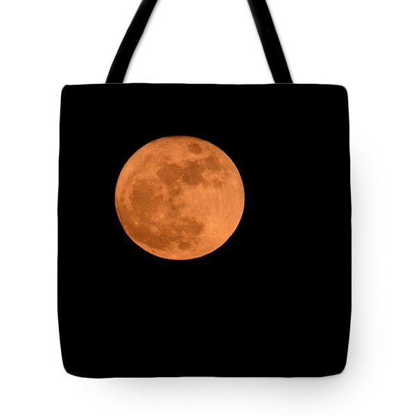 Tote Bag featuring the photograph Moon Before Yule  by Bradford Martin