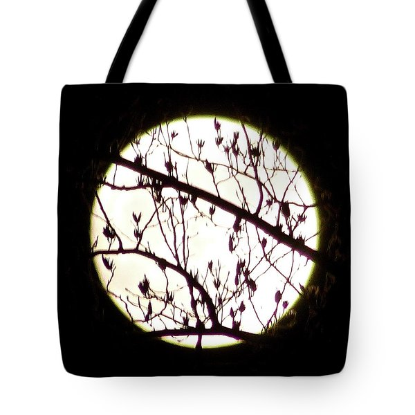 Moon Branches Tote Bag