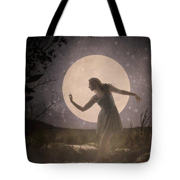 Moon Dance 001 Tote Bag