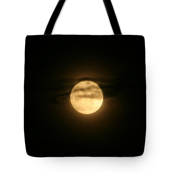 Tote Bag featuring the digital art Moon Dance by Barbara S Nickerson