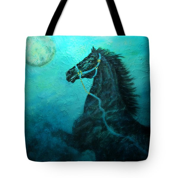Moon Dance Tote Bag by The Art With A Heart By Charlotte Phillips