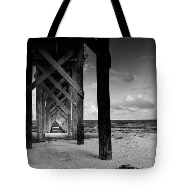 Moon Deck Tote Bag