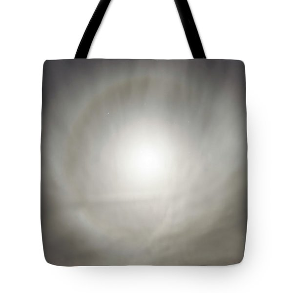 Moon Dog Tote Bag by Leland D Howard