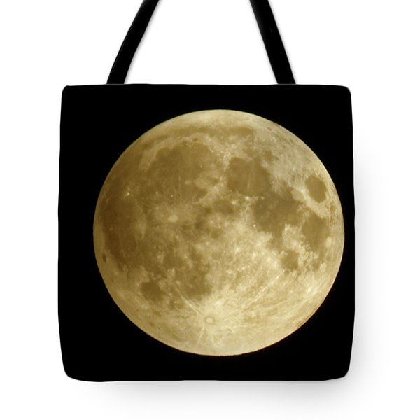 Moon During Eclipse Tote Bag