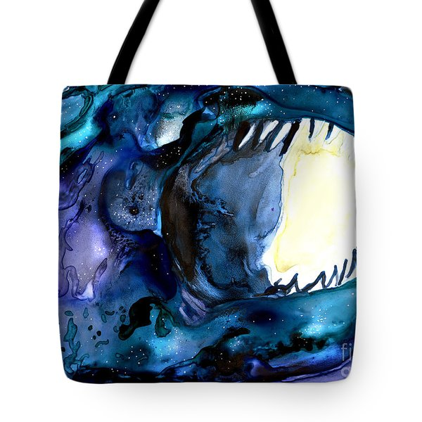 Moon Eater Dragon Lunar Eclipse Tote Bag