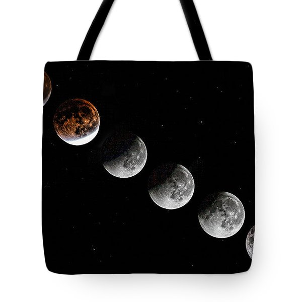 Moon Eclipse 2015 Tote Bag
