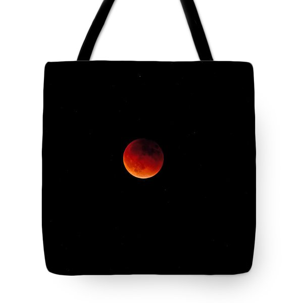 Moon Eclipse 9/27/2015 Tote Bag