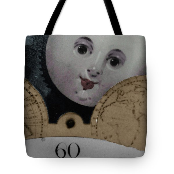 Moon Face Tote Bag