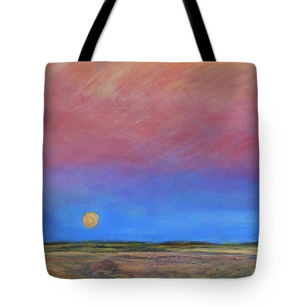 Harvest Moon  Tote Bag by Helen Campbell