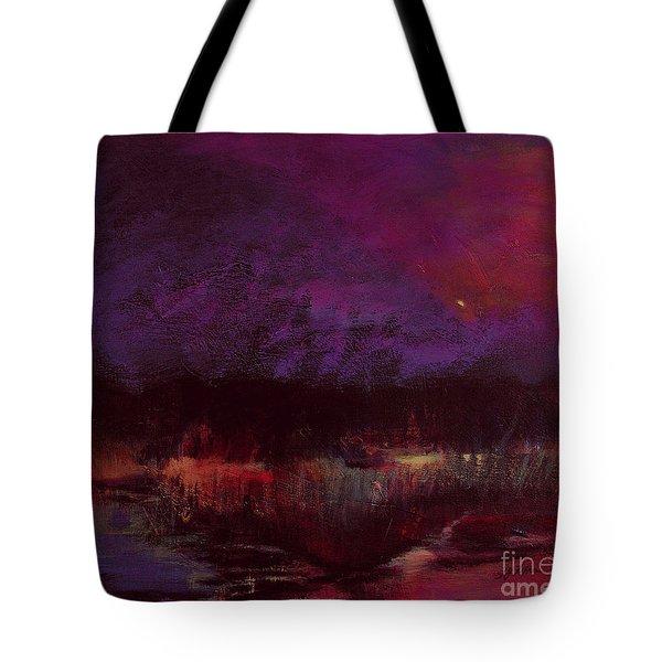 Moon Glow 5-6-11 Julianne Felton Tote Bag