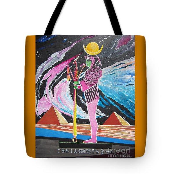 Blaa Kattproduksjoner             Moon God - Osiris Tote Bag