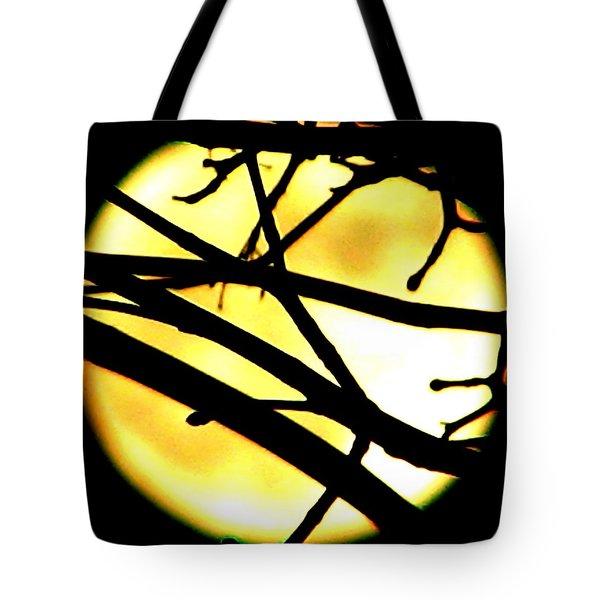 Moon Iv Tote Bag