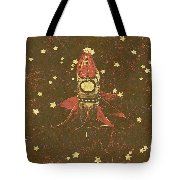 Moon Landings And Childhood Memories Tote Bag
