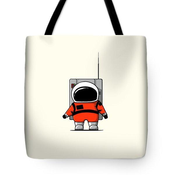 Moon Man Tote Bag