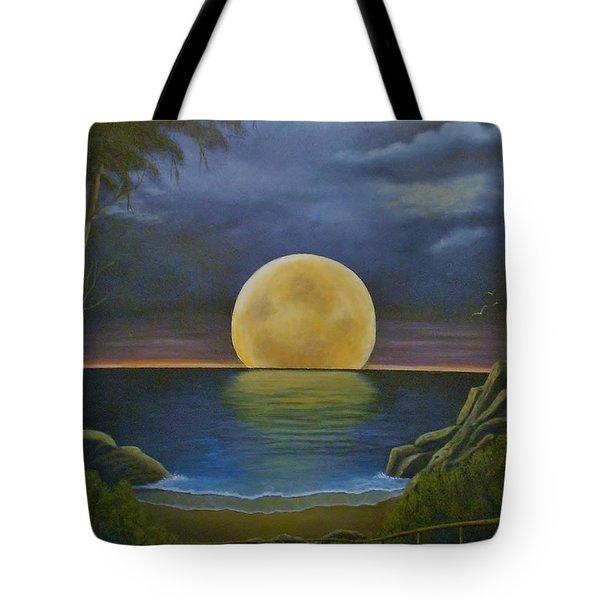 Moon Of My Dreams II Tote Bag