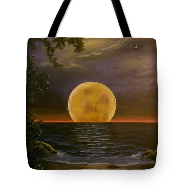 Moon Of My Dreams Tote Bag by Sheri Keith