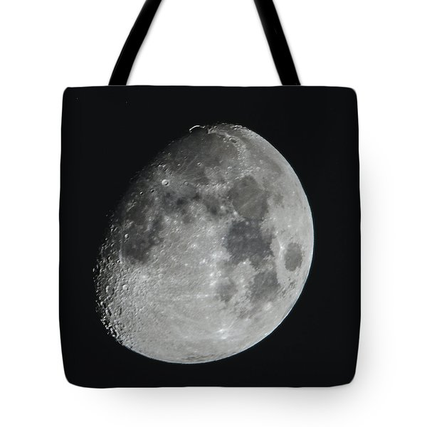 Moon On Day 12 Tote Bag