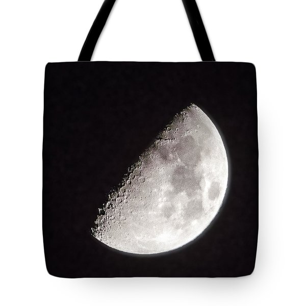 Moon On Day 7 Tote Bag