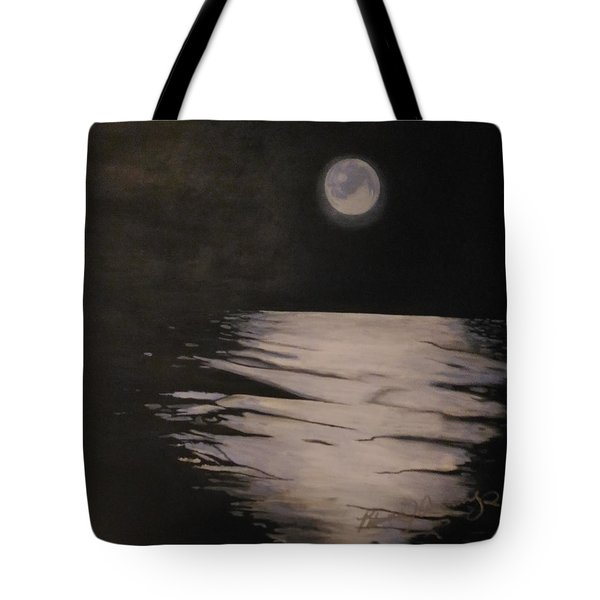 Moon Over The Wedge Tote Bag