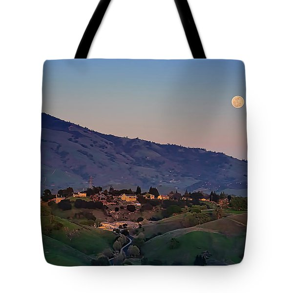 Moon Over Diablo Tote Bag