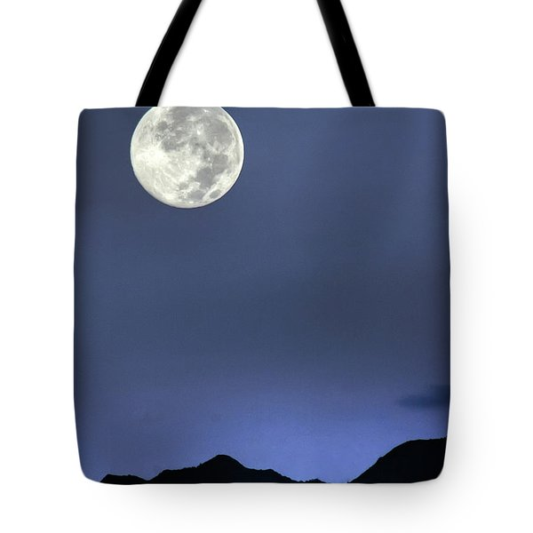 Moon Over Ko'olau Tote Bag